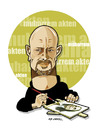 Cartoon: -MUHARREM AKTEN- PORTRAIT (small) by donquichotte tagged makten