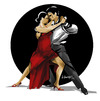 Cartoon: TANGO (small) by donquichotte tagged tng