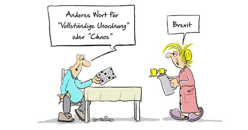 Cartoon: Brexit8 (medium) by Marcus Gottfried tagged theresa,may,brexit,england,großbritannien,eu,europa,theresa,may,brexit,england,großbritannien,eu,europa
