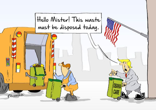 Cartoon: Obamacare (medium) by Marcus Gottfried tagged donald,trump,president,us,usa,america,election,obamacare,health,insurance,garbage,trash,waste,refusal,disposal,dispose,underclass,away,dumping,ground,history,white,house,anticipation,host,paterfamilias,clean,sweeping,friends,marcus,gottfried,cartoon,carikature,donald,trump,president,us,usa,america,election,obamacare,health,insurance,garbage,trash,waste,refusal,disposal,dispose,underclass,away,dumping,ground,history,white,house,anticipation,host,paterfamilias,clean,sweeping,friends,marcus,gottfried,cartoon,carikature
