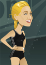 Cartoon: Anna Kournikova (small) by Nicoleta Ionescu tagged anna,kournikova,tennis,player