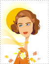Cartoon: Ingrid Bergman (small) by Nicoleta Ionescu tagged ingrid,bergman