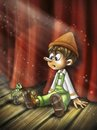 Cartoon: Pinocchio (small) by Nicoleta Ionescu tagged pinocchio cartoon character