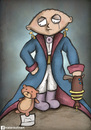 Cartoon: stewie griffin little prince (small) by matan_kohn tagged book,family,funny,griffin,guy,kohn,matan,prince,stewie,ted,tv,little