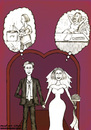 Cartoon: The perfect Marriage (small) by matan_kohn tagged marriage,man,woman,love,matan,kohn