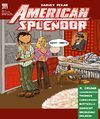 Cartoon: American Splendor fantasy cover (small) by frostyhut tagged pekar,girl,boobs,americansplendor,hotdog,crumb,bed,records,noguchi,mustard,ketchup