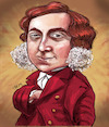 Cartoon: Gioachino Rossini (small) by frostyhut tagged classical opera composer music 19thcentury italian