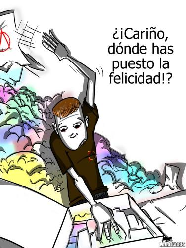 Cartoon: donde!? (medium) by LaRataGris tagged laratagris,final,de,las,vacaciones