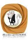 Cartoon: Null Null Siebenschläfer (small) by Kossak tagged james,bond,siebenschläfer,film,kino,tier,daniel,craig