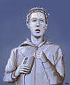 Cartoon: Gajus Marcus Zuckerberg (small) by flintstone73 tagged facebook,zuckerberg,statue,legend,famous