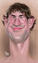 Cartoon: John Krasinski Caricature (small) by Fivi tagged john,krasinski,caricature