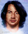 Cartoon: Keanu Reeves (small) by Fivi tagged keanu,reeves,portrait,painting