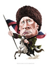 Cartoon: Vladimir Putin Caricature (small) by Fivi tagged caricature,commission,people,portrait,famous