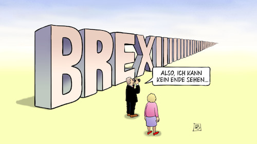 Cartoon: Brexit-Verschiebung (medium) by Harm Bengen tagged brexit,verschiebung,eu,europa,austritt,gb,uk,ende,fernglas,horizont,unendlich,harm,bengen,cartoon,karikatur,brexit,verschiebung,eu,europa,austritt,gb,uk,ende,fernglas,horizont,unendlich,harm,bengen,cartoon,karikatur