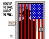 Cartoon: Bradley Manning (small) by Harm Bengen tagged bradley,manning,whistleblower,usa,gefaengnis,urteil,militaer,wikileaks,harm,bengen,cartoon,karikatur