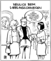 Cartoon: China-Restaurant (small) by Harm Bengen tagged china,restaurant,tibet,autonom,tisch,gast,essen
