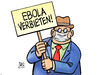 Cartoon: Ebola verbieten (small) by Harm Bengen tagged ebola,verbieten,verbot,krankheit,seuche,virus,panik,usa,westafrika,ansteckung,harm,bengen,cartoon,karikatur
