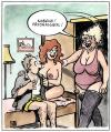 Cartoon: Personalwexl (small) by Harm Bengen tagged erotik,personalwechsel,