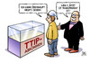 Cartoon: TTIP-Transparenz (small) by Harm Bengen tagged ttip transparenz bundestag verhandlungen freihandelsabkommen deutschland europa usa zoll standards chlorhaehnchen chlohr huehner harm bengen cartoon karikatur