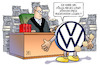 Cartoon: VW-Sammelklage (small) by Harm Bengen tagged sammelklage,musterfeststellungsklage,gericht,richter,betrug,abgasskandal,neues,logo,akten,diess,poetsch,winterkorn,anklage,marktmanipulation,aktienkurs,vw,harm,bengen,cartoon,karikatur