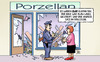 Cartoon: Zwei Elefanten (small) by Harm Bengen tagged porzellan,porzellanladen,elefanten,rollstuhl,finanzen,grexit,kammenos,schaeuble,finanzminister,schulden,deutschland,institutionen,hilfe,griechen,eurozone,ezb,iwf,troika,eu,euro,europa,griechenland,harm,bengen,cartoon,karikatur