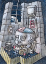 Cartoon: Lobotomy (small) by vladan tagged lobotomy tv brain fast food