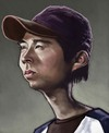 Cartoon: Glenn (small) by jonesmac2006 tagged the,walking,dead,caricature,glenn