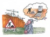 Cartoon: Stuttgart 21 (small) by mandzel tagged stuttgart,21,baustelle,grab,geld