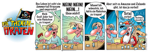 Cartoon: Die Thekenpiraten 69 (medium) by stefanbayer tagged weihnachten,amazon,zalando,geschenke,päckchen,schenken,liefern,bringen,theke,piraten,thekenpiraten,onlinebestellung,weihnachtsmann,internet,computer,smartphone,stefanbayer,bay,jammertal,cool,leben,bar,club,lounge,alkohol,gastronomie