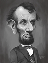 Cartoon: Abraham Lincoln (small) by rocksaw tagged abraham,lincoln