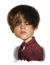 Cartoon: Justin Bieber (small) by rocksaw tagged caricature,justin,bieber