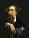 Cartoon: Charles Dickens (small) by rocksaw tagged caricature,of,charles,dickens