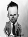 Cartoon: John Dillinger (small) by rocksaw tagged john,dillinger