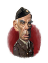 Cartoon: Lee Marvin   Dirty Dozen (small) by rocksaw tagged lee,marvin