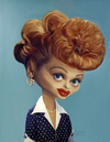 Cartoon: Lucille Ball (small) by rocksaw tagged lucille,ball