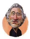 Cartoon: Robert De Niro (small) by rocksaw tagged caricature,study,robert,de,niro