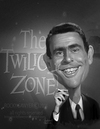 Cartoon: Rod Serling (small) by rocksaw tagged caricature,rod,serling