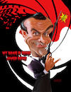 Cartoon: Sean Connery 007 (small) by rocksaw tagged caricature,sean,connery