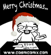 Cartoon: christmas greetings (small) by cosmicomix tagged christmas,greetings