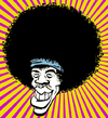 Cartoon: Jimi_Hendrix (small) by cosmicomix tagged caricature caricatura jimi hendrix sex drugs and rock roll