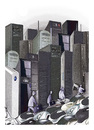 Cartoon: City !... (small) by ismail dogan tagged technology