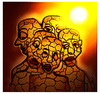 Cartoon: GLOBAL WARMING! (small) by ismail dogan tagged global,warming