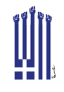 Cartoon: Greece (small) by ismail dogan tagged greece