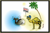 Cartoon: BORDER (small) by ismail dogan tagged halte