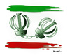Cartoon: IRAN !.. (small) by ismail dogan tagged iran