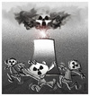 Cartoon: NUCLEAR DANGER !.. (small) by ismail dogan tagged nuclear