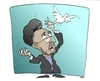 Cartoon: TURBANTE (small) by uber tagged iran,khatami,pace,peace
