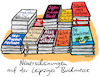 Cartoon: Leipziger Buchmesse (small) by habild tagged martin,schulz,spd,bücher,effekt