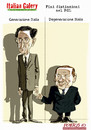 Cartoon: Fini distinzioni nel PdL (small) by portos tagged fini,berlusconi