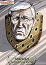 Cartoon: Macello  Lippi 2010 (small) by portos tagged mondiali,sudafrica,lippi,italia